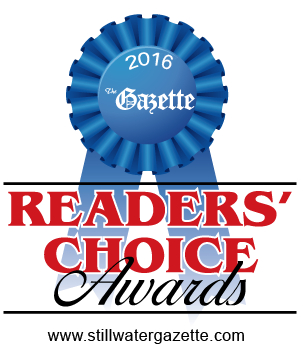 Stillwater Gazette Readers' Choice Award 2015